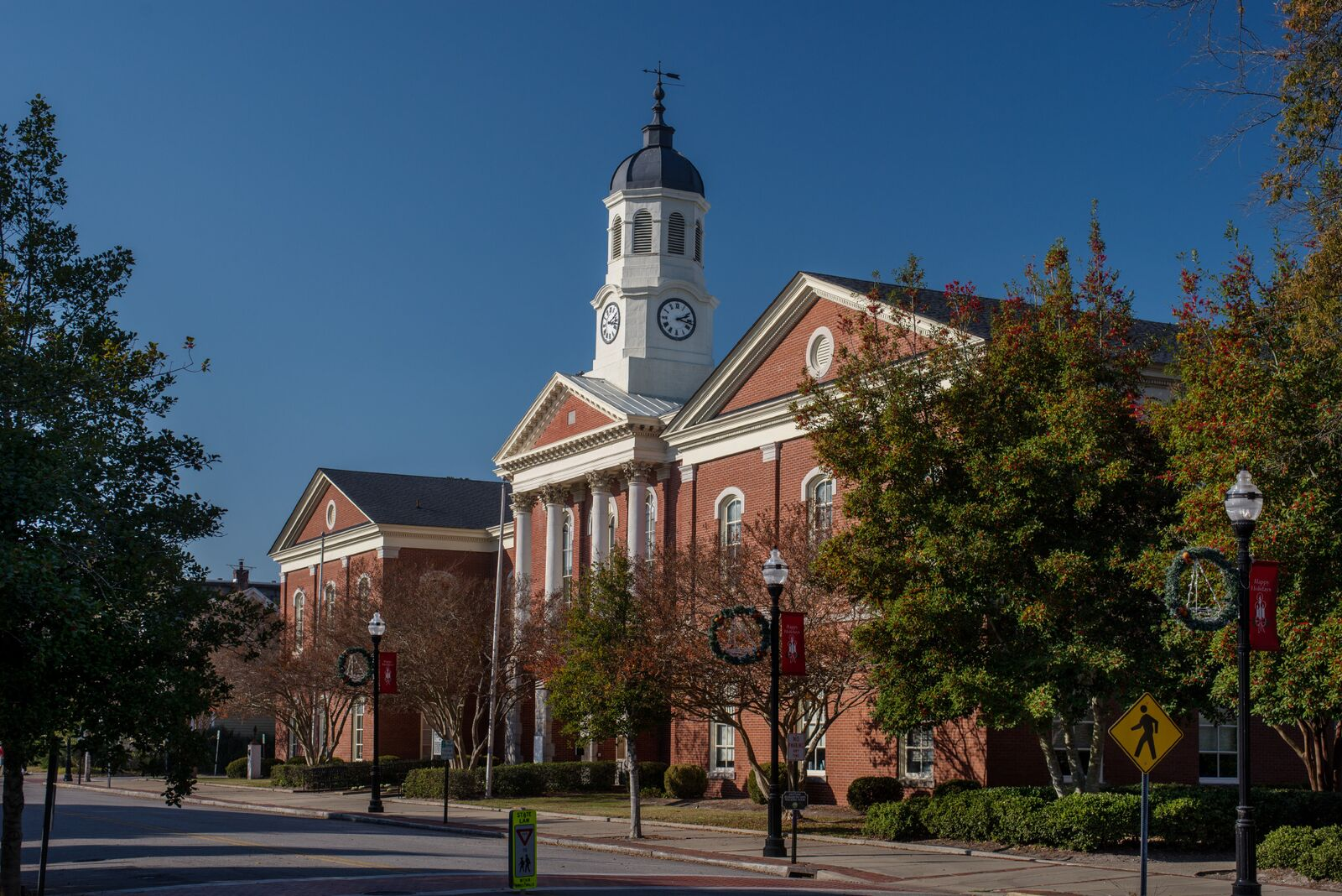 Elizabeth City courthouse, part of the Historic Albemarle Tour