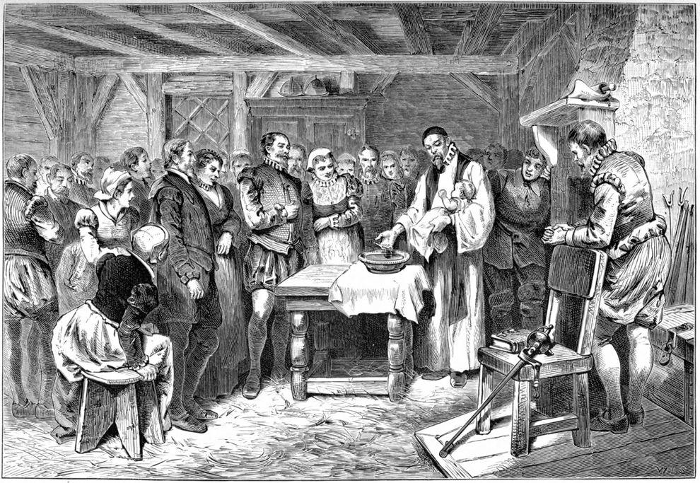 Lost Colony of Roanoke Island , 1st child born Virginia Dare