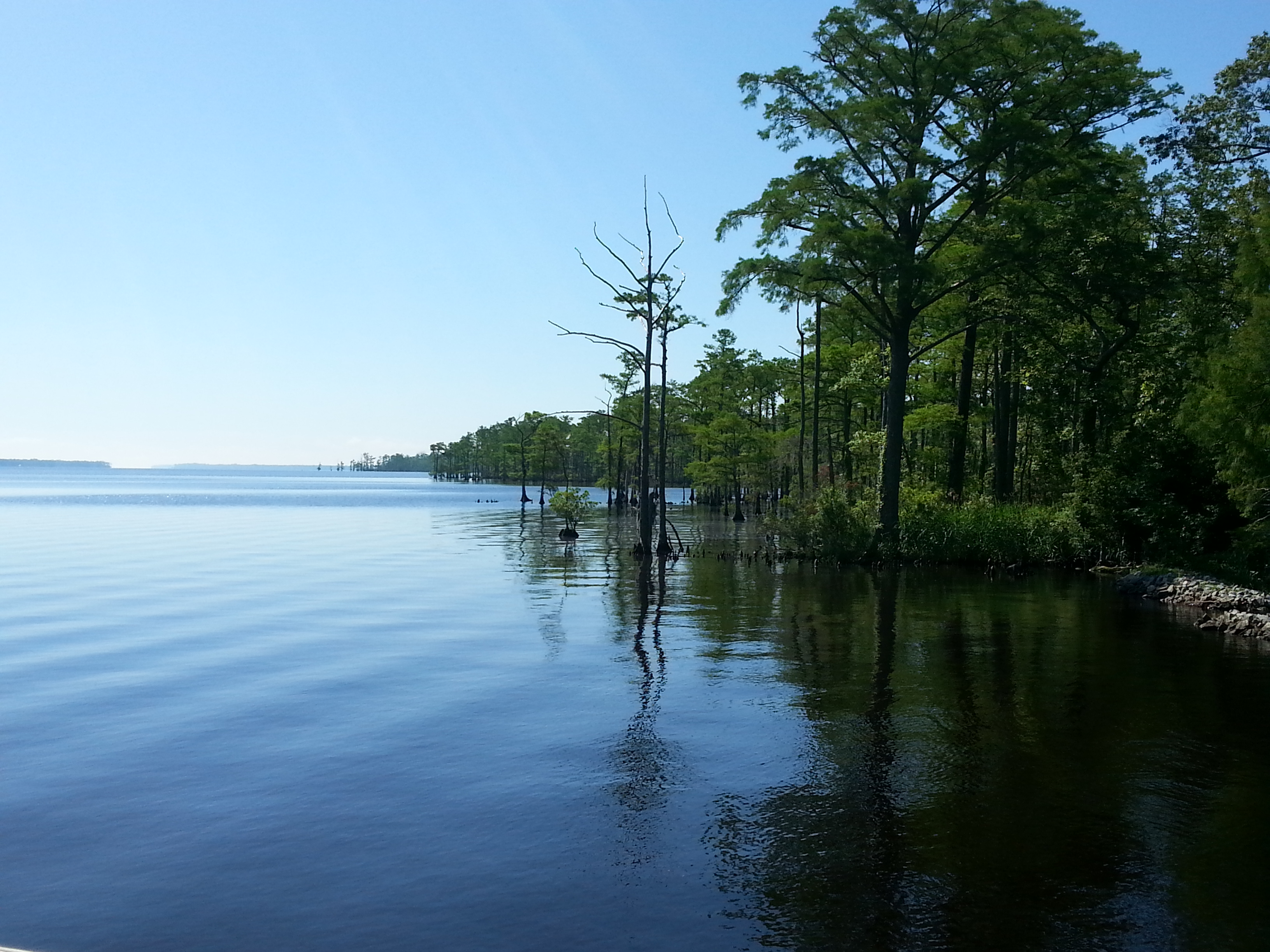 The Perquimans River is a coastal waterway in Northeastern North Carolina of Hertford