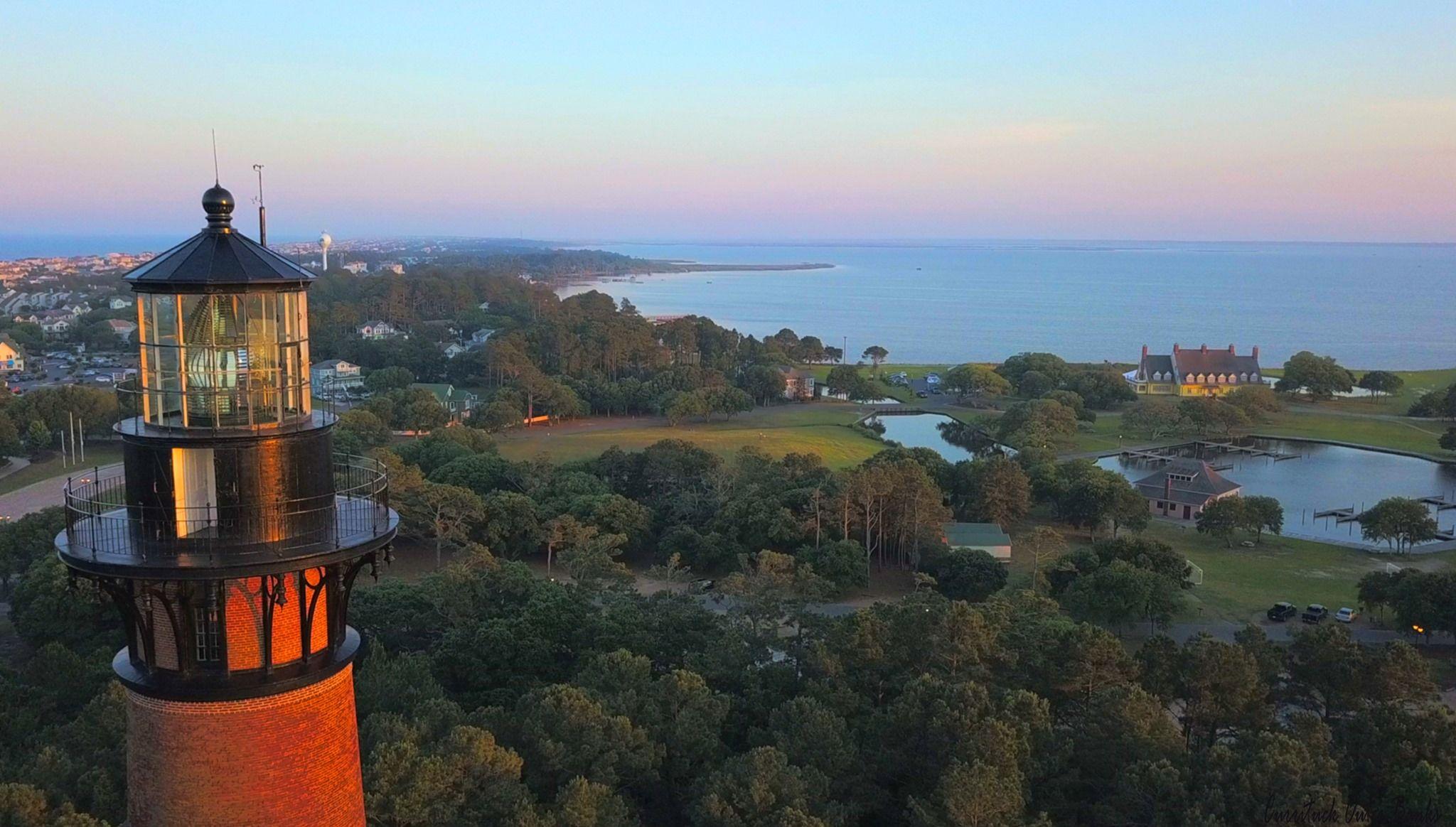 Currituck Lighthouse in Corolla NC