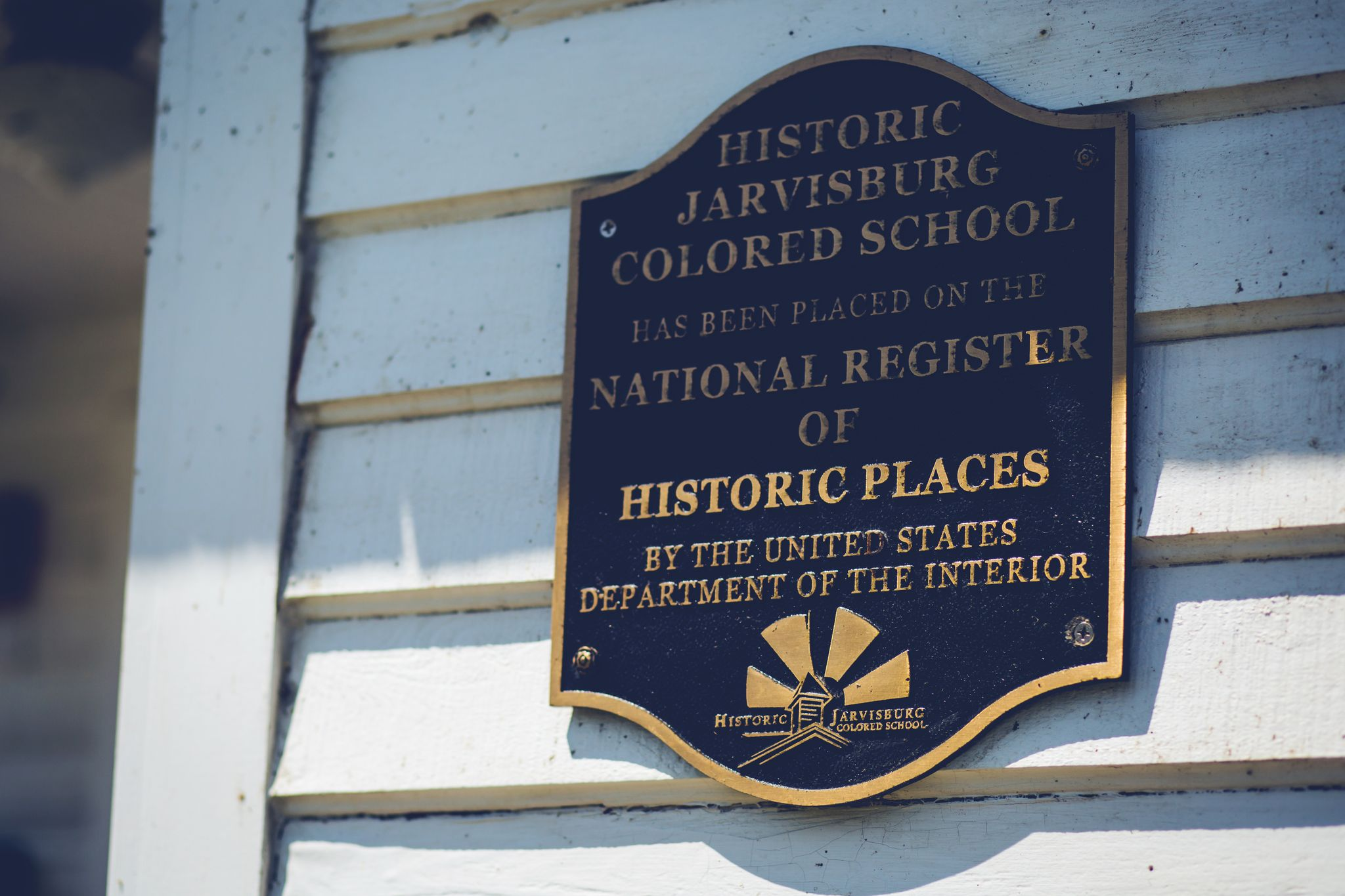 Historic Jarvisburg Colored School is National registered historic places